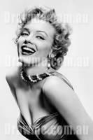 Marilyn Monroe by DrawMeDotComDotAu