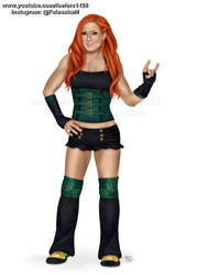 Becky Lynch by Fefe1414