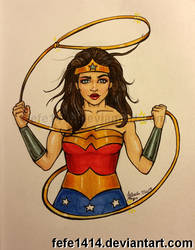 Wonder Woman by Fefe1414