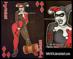 Harley Quinn by Fefe1414
