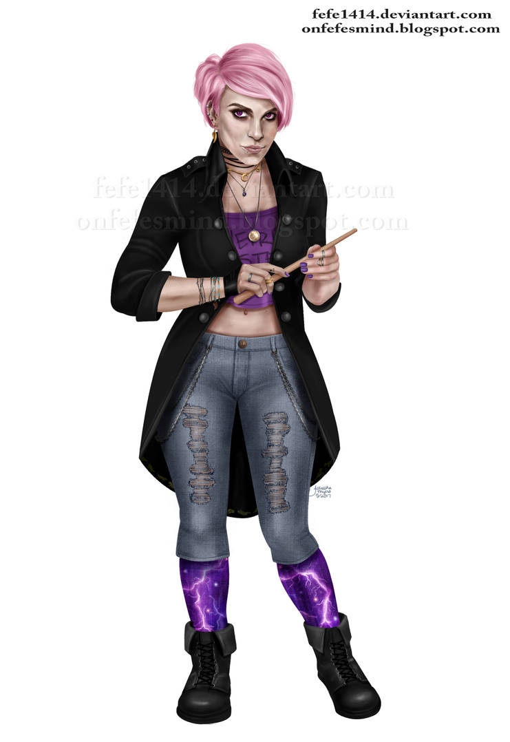 Nymphadora Tonks by Fefe1414