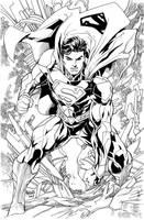 Superman new 52 by gammaknight