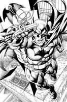 the Batman by gammaknight