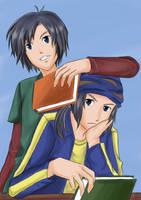 Digimon:Kouichi_Kouji by kairikazu