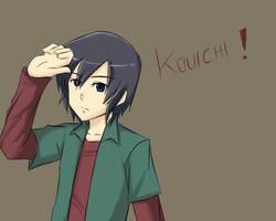 Digimon:Kouichi by kairikazu