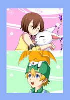 Digimon: Our little Hero by kairikazu