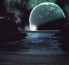 Celestial Shores by AshlieNelson