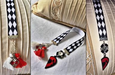 Harley Quinn Custom Handmade Bookmark by QuidleysQuirks
