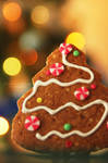 Christmas Tree Ginger Bread by t3nshi