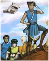 Sokka: The Navigator by bobangeba