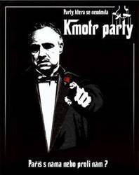 Letak pro Kmotr party by niknars