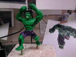 Incredible Hulk by Speezi