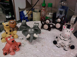 Baby Jungle Animals by Speezi