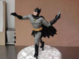Batman sculpt by Speezi