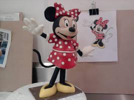 Minnie Mouse sculpt by Speezi