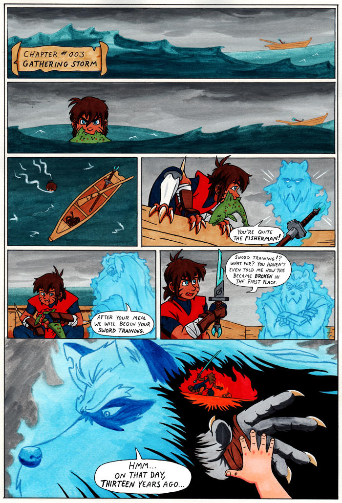 TANUKI BLADE ISSUE 003 - PAGE 1 OF 16 by Speezi