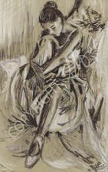Ballet Girl by LauraHolArt