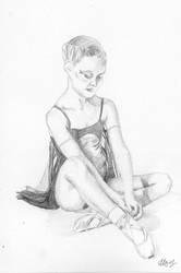 Mini Ballerina by LauraHolArt