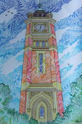 Maidenhead Clock Tower by LauraHolArt