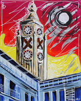 The OXO Tower by LauraHolArt