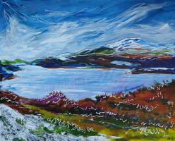 Mawwdach Estuary by LauraHolArt