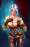 Witcher. Cirilla (fan art) by nothingsun
