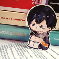 a little tobio kageyama sad because of study  by jenisills