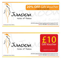 Junoon - Gift Vouchers by DrDuke