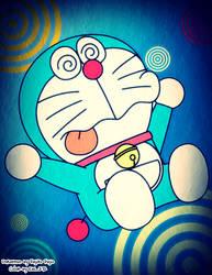 Confuse Doraemon by FlyncSylinc