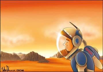 The Martian by 1980Fabio