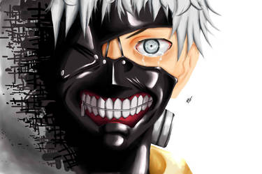 Fading Away Tokyo Ghoul by SilverCrow171