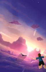 Fly like a bird by SilverCrow171