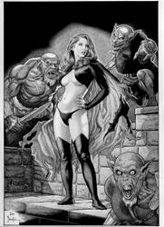 GOBLIN QUEEN by Joe Pimentel by joepimentel2018