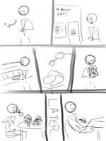 Stuffing Comic YCH by AdultAlexandraFire