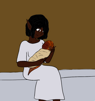 Nneka's Special Daughter by AdultAlexandraFire