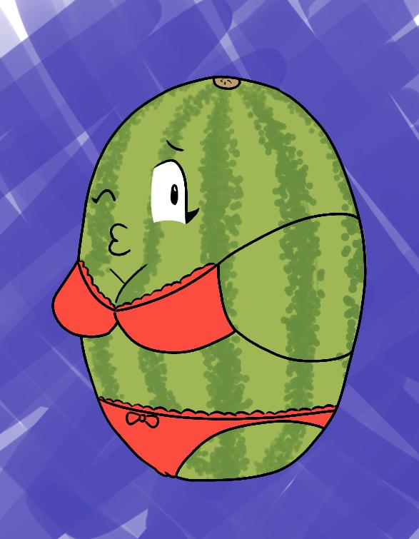 Sexy Watermelon by AdultAlexandraFire