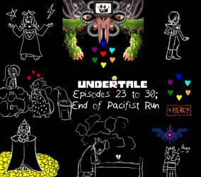 Undertale Thumbnail Doodles pt 3 by AdultAlexandraFire