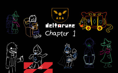 Deltarune - Chapter 1 Thumbnails by AdultAlexandraFire