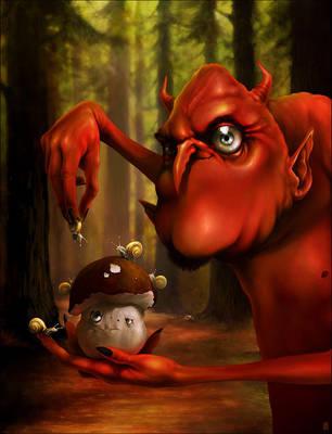 Torturing Poor Mushroom by Ninja2ASSN