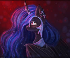 Nightmare Moon by Zefir-ka
