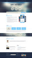Appic Bussines Technology PSD Template by DarkStaLkeRR