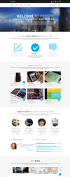 iResources - Creative One Page portfolio PSD Theme by DarkStaLkeRR