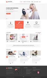Whisper - Creative Corporate Theme by DarkStaLkeRR