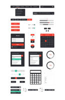 UI kit by DarkStaLkeRR