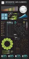 Infographic Data Elements by DarkStaLkeRR