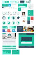 Flatter - user interface kit by DarkStaLkeRR