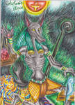 Anubis, God of death and mumification by MoonRises