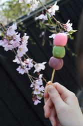Sweet Dango! Japanese Traditional Sweets. by hanatsukuri