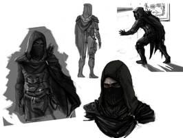 Thief doodles by Miklche04