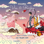 Via and Rizky Wedding Invitation Card by RIDJAM